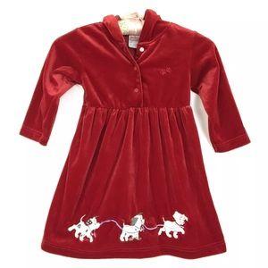 Disney Dalmatians Dress Hoodie Velvet